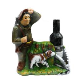 Касичка ловец с вино , склад за сувенири и подаръци, сувенири на едро, вносител, китайски сувенири на едро, дървени сувенири на едро, онлайн, български ,