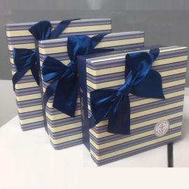 Луксозни подаръчни кутии К-т 3 бр. , подаръчни кутии, картонени кутии за подаръци, луксозни кутии за ,опаковъчни кутии,подаръчни кутии, София, склад на едро