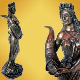 Статуетка Фортуна-23см ,сувенири на едро, пловдив, бургас, български сувенири на едро, китайски сувенири на едро, сувенири, онлайн, склад за сувенири