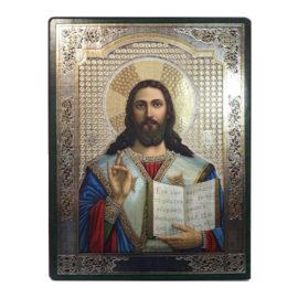 икона на Исус христос, икони на едро, икона, склад за сувенири, български икони, склад на едро, софия, варна, пловдив, сувенири от дърво, подаръци на едро,