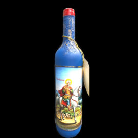 Бутилка вино с икона на Свети Мина , сувенири на едро online, традиционни булгарски сувенири на едро, китайски сувенири на едро, софия, пловдив, бургас,