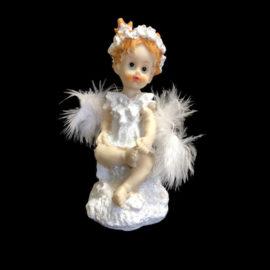 Ангелче с пух , сувенири на едро, китайски сувенири на едро, склад на едро, вносител на сувенири, софия, пловдив, варна, бургас, цени на едро, подаръци