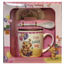 Детски к-т за чай, порцеланов комплект за чай и кафе, сувенири на едро, склад за сувенири, подаръци на едро, склад за подаръци, suveniri na edro, suweniri online, sklad za suveniri i podaraci