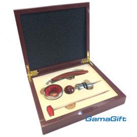 Луксозна кутия с аксесоари за вино , склад за сувенири и подаръци, сувенири на едро, вносител, китайски сувенири на едро, дървени сувенири на едро, онлайн