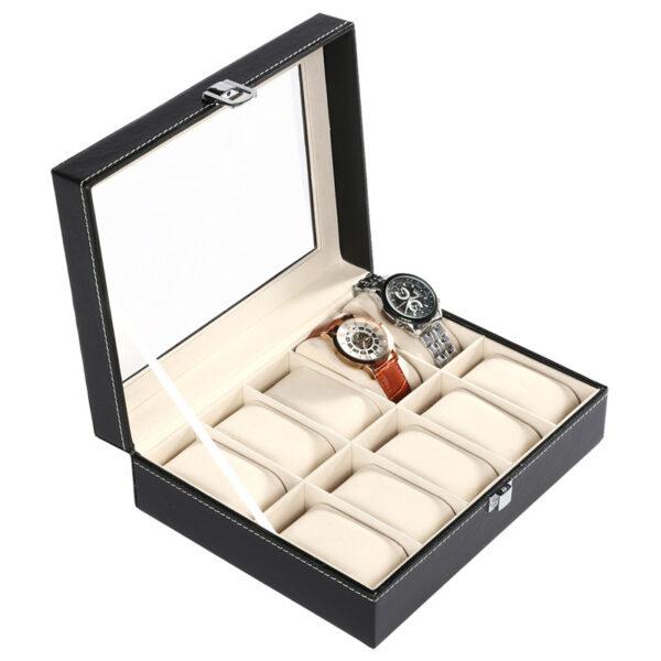 Луксозна кутия за 10бр. часовници