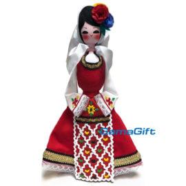 Битова национална кукла с носия 32см
