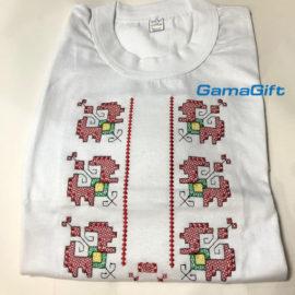 Тениска с бродерия българска Шевица